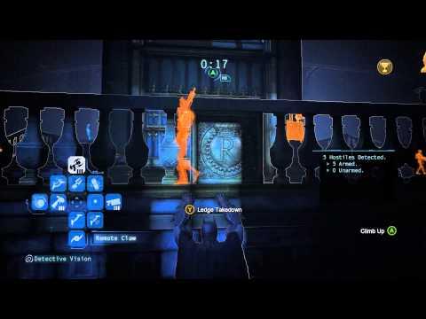 Batman Arkham Origins Predator Challenges Batman Arkham Origins Quiet