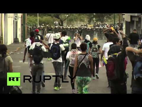 Venezuela: Protests continue for fifth straight day