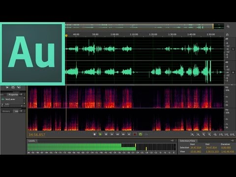 Уроки Adobe Audition CS6 - видео
