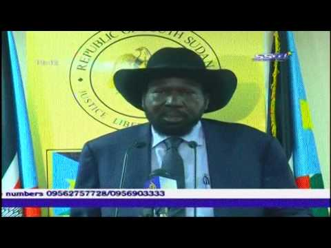 South Sudan's President Salva Kiir says his forces have recaptured the key town of Bor