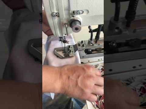 Brother KE438FX machine with Special Customized clamp