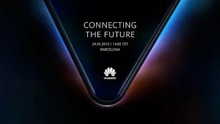 Huawei Mate X Launch Event live | Global Product Launch MWC!