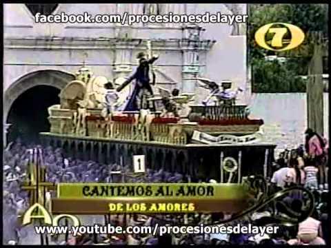 2008 Semana Santa Antigua Guatemala Jueves Jesus Nazareno de la Humildad Templo San Cristobal el Baj