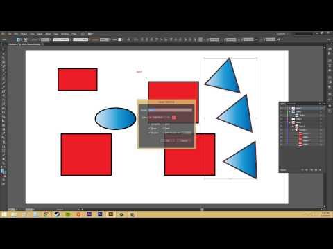 Adobe Illustrator CS6 for Beginners - Tutorial 57 - Layers Panel Options