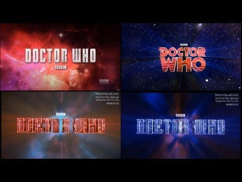 Doctor Who Title Sequence- Neonvisual Evolution - Notice The Tweaks And Loan Me Your Eyes! video