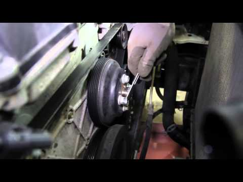 How to Install a Water Pump: 2002 - 2009 GMC Envoy 4.2L L6 WP-9234 AW5097