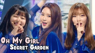 Download Lagu [Comeback Stage] OH MY GIRL - Secret Garden,  오마이걸 - 비밀정원 Show Music core 20180113 Gratis STAFABAND
