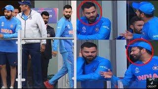 Rohit Sharma gets angry at Virat Kohli during India vs NZ || CWC2019
