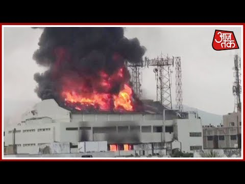 Massive Fire Breaks Out At A Theatre In Visakhapatnam; Fire Tenders On Scene