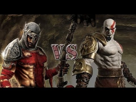 God Of War vs Dante's Inferno   Raw Instincted