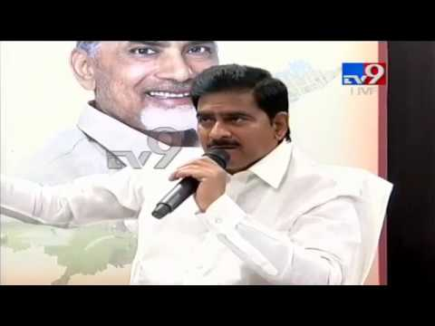 AP Minister Devineni Uma Press meet LIVE || Vijayawada - TV9