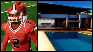 NCAA Football 14 Road To Glory - The Chosen One's Life Story | First High School Playoff Game