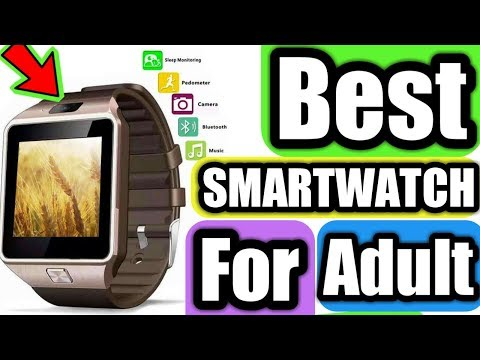Best Smart Watches For adult/smart watch fashion smart watch dz09 all compatible electronic