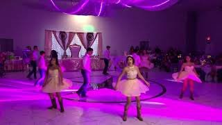 Destiney's Quince Surprise Dance 2019 (Bachata, Wepa, Cumbia)