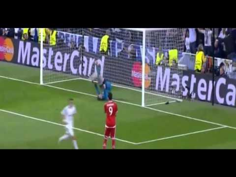 Gol Benzema Real Madrid 1 - Bayern de Munich 0 (23/04/14)