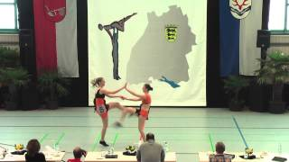 Ilona Kling & Tatjana Kling - Ländle Cup 2015