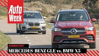 Mercedes-Benz GLE vs. BMW X5 - AutoWeek Dubbeltest - English subtitles
