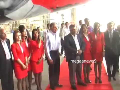 AirAsia India's fourth aircraft Flight launch