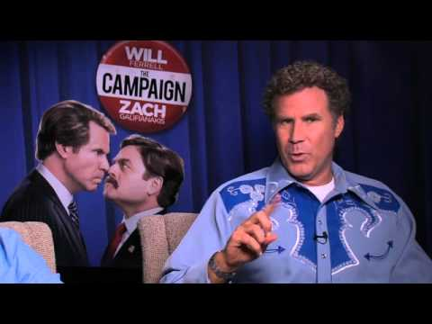 The Campaign -  Will Ferrell and Zack Galifianakis at US Junket - In Cinemas September 28