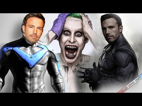 Joker Reveal was FAKE? Ben Affleck is Playing Nightwing? Titans Retitled on TNT