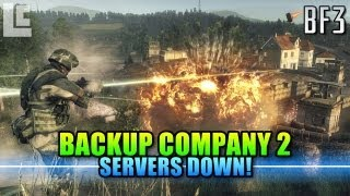 Backup Company 2 - Servers Down! (Battlefield Bad Company 2 Gameplay/Commentary)