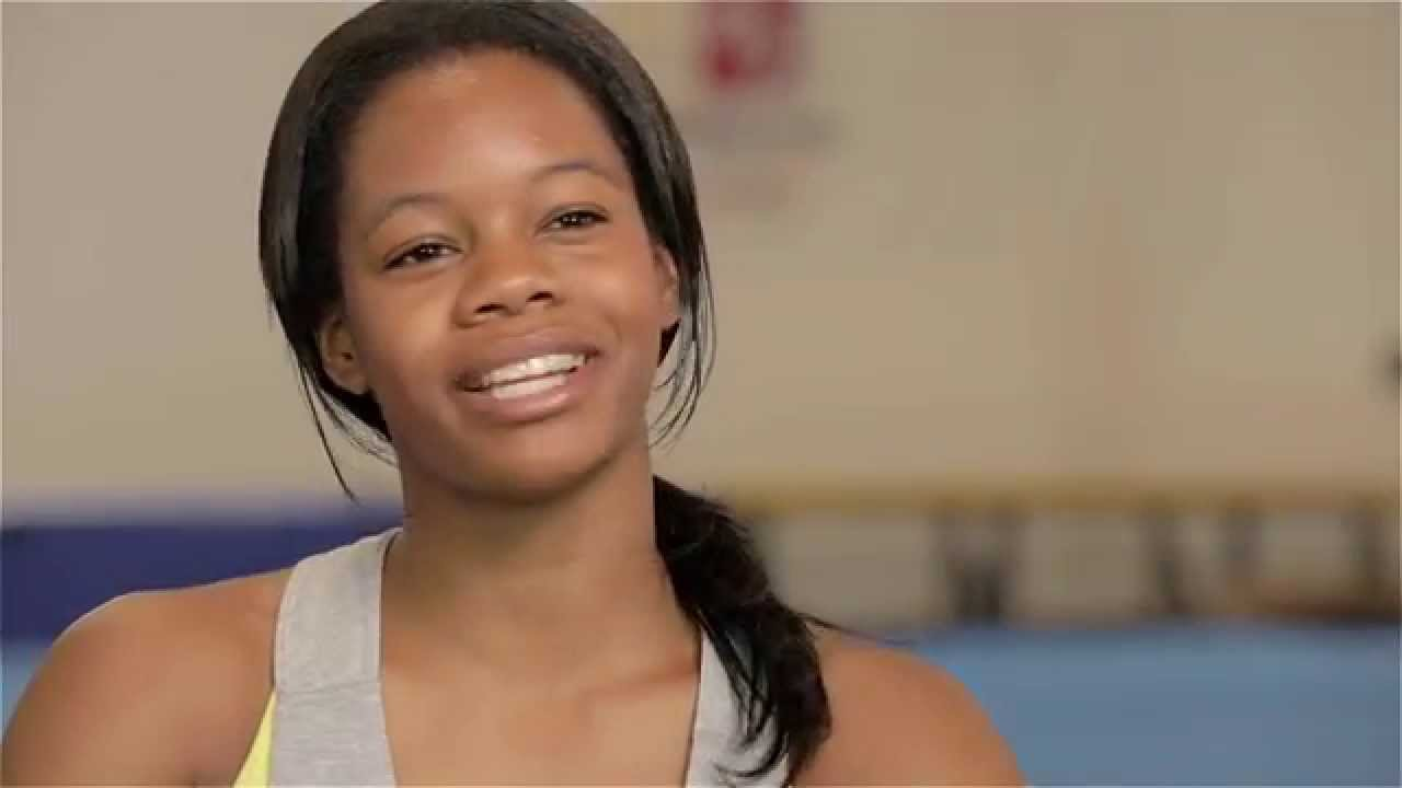 Gabby Douglas Back In The Gym Youtube