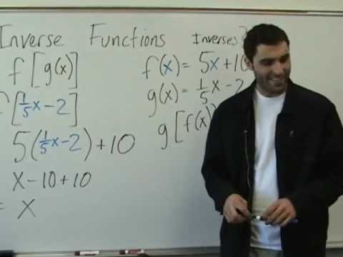 Algebra 2 - Inverse Functions