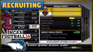 Two Star Diamond??? | Recruiting | NCAA Football 14 TeamBuilder Dynasty Ep. 10