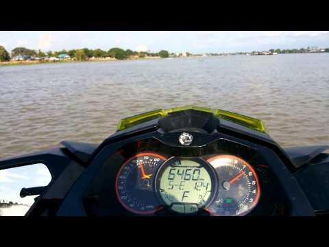 testseadoo rxp-x 260 thailand Chao Phraya River