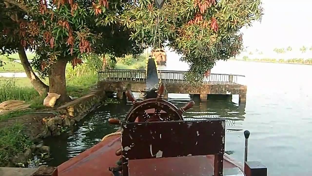 Kumarakom Houseboat Trip Kerala Backwaters Youtube
