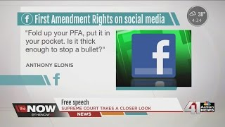 Supreme Court to hear case on social media and First Amendment rights