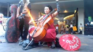 "Unwoman - ""Written in Red"" at the General Strike in Oakland"
