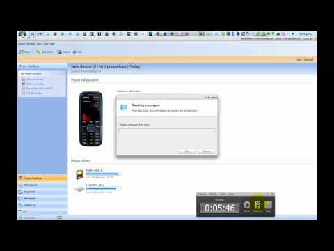 actualizacion del nokia 5130 a la version 7.97 con la home screen activada