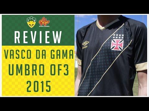 Camisas & Chuteiras TV - Review Camisa Vasco da Gama Umbro Third 2015
