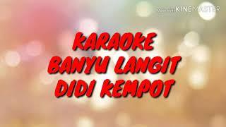 Banyu Langit Didi Kempot Karaoke full Dangdut koplo Nella kharisma, via vallen