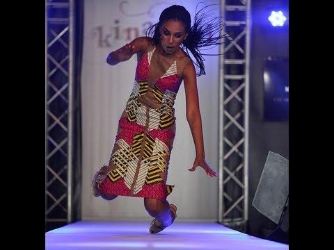 Model Amal Contran falls down during Kinabuti 2013 collection (VIDEO)
