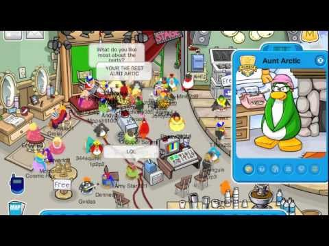 Club Penguin - Meeting Aunt Arctic [2010]