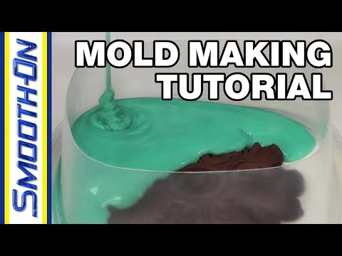 Mold Making Tutorial  Pour On Silicone Mold