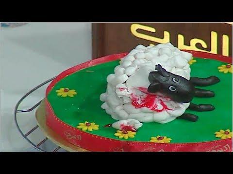 كب كيك خروف العيد | الشيف #قدري #حلواني_العرب #فوود