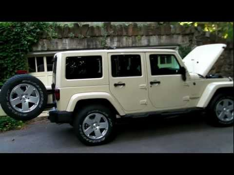 Jeep Wrangler Unlimited Sahara обзор
