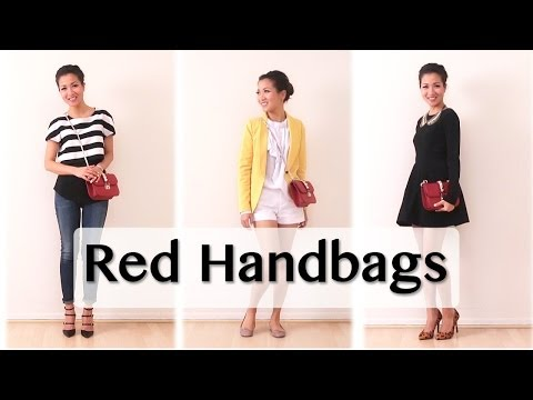 Red Handbag Pairings