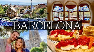 3 Days in BARCELONA - Gothic Quarter, Sagrada Familia, Best Food Market, Park Guell | 2020 Itinerary