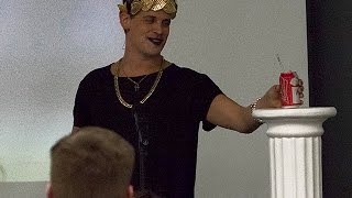 Milo Yiannopoulos responds to White House Press Secretary Rumors Trump 12/7/16 MSU [HD]