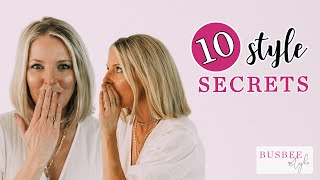 10 Style SECRETS Every Woman Should Know About!
