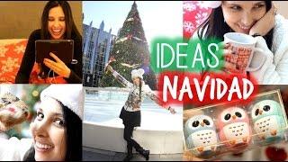 IDEAS para NAVIDAD! Regalos, Bebidas, Moda Y MÁS!