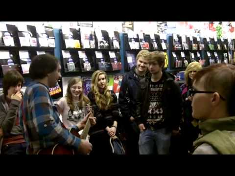 Ben Marwood - singalong at Banquet Records