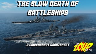 The Death of Battleships in WOWS