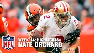Nate Orchard Highlights (Week 14) | 49ers vs. Browns | NFL