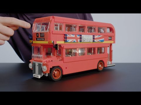 LEGO Designer Shows Off London Double Decker Bus 10258