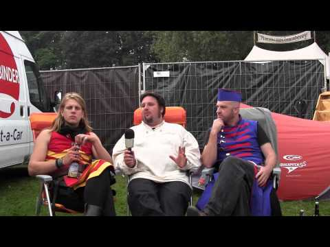 Feuerschwanz Interview - MPS Hamburg - MMORPG Radio On Tour 04